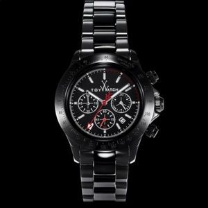 TOY WATCH ceramic chronicles black dial